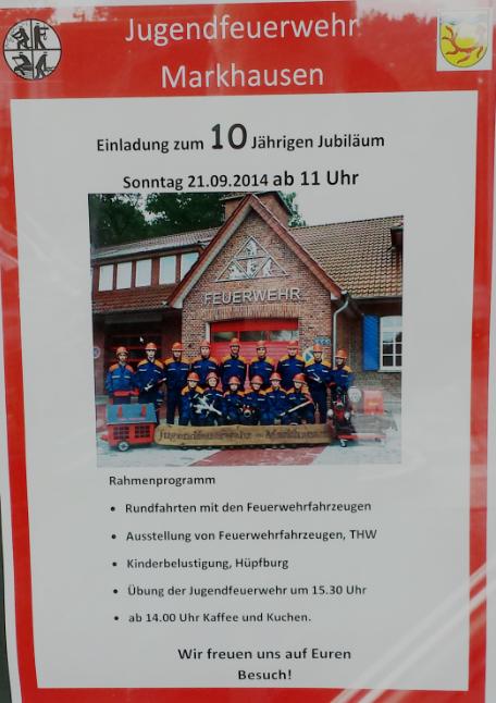 20140815 Jugendfeuerwehrjubilaeum 2
