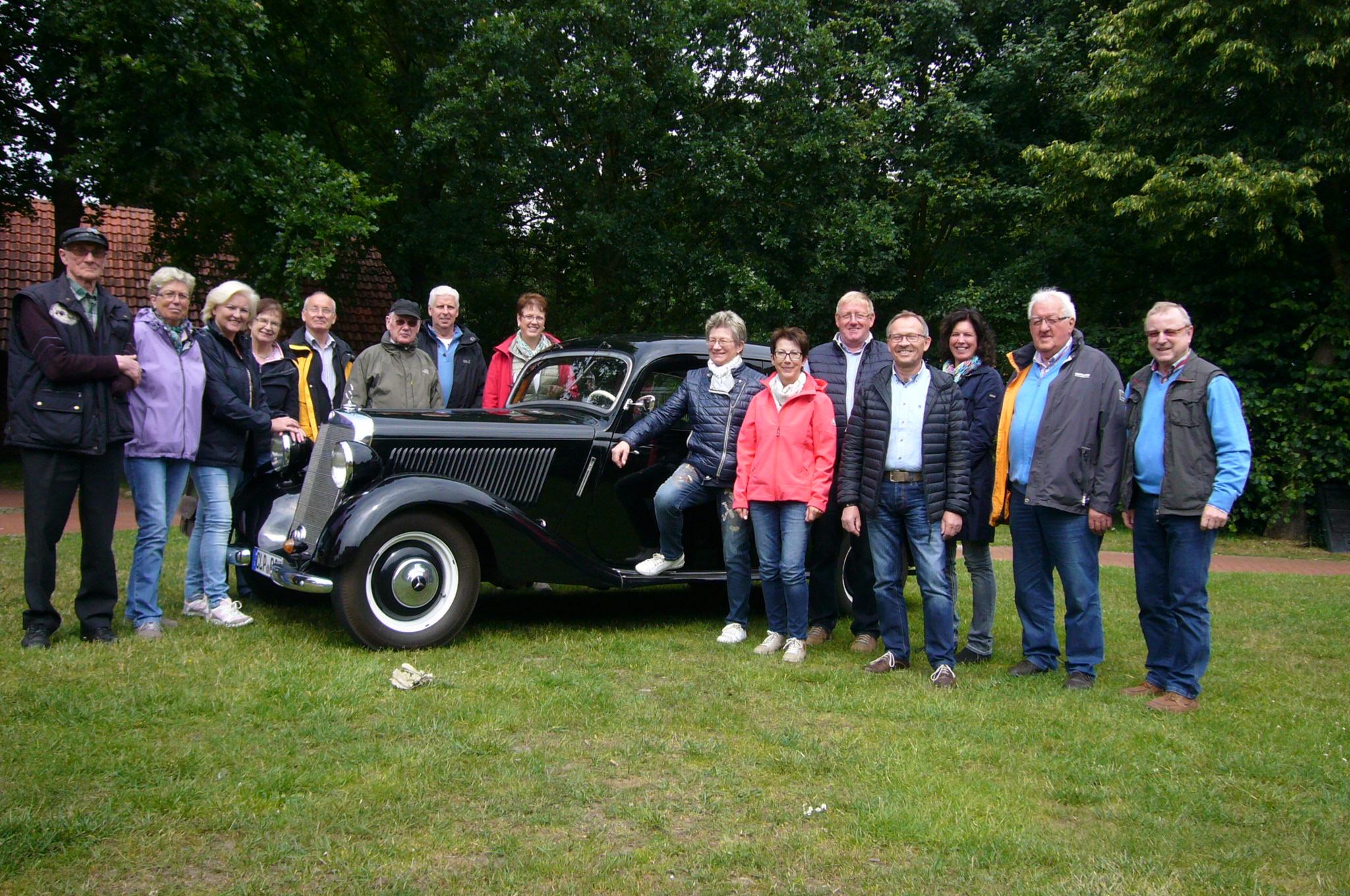 20150624 Heimatverein besucht Boesel